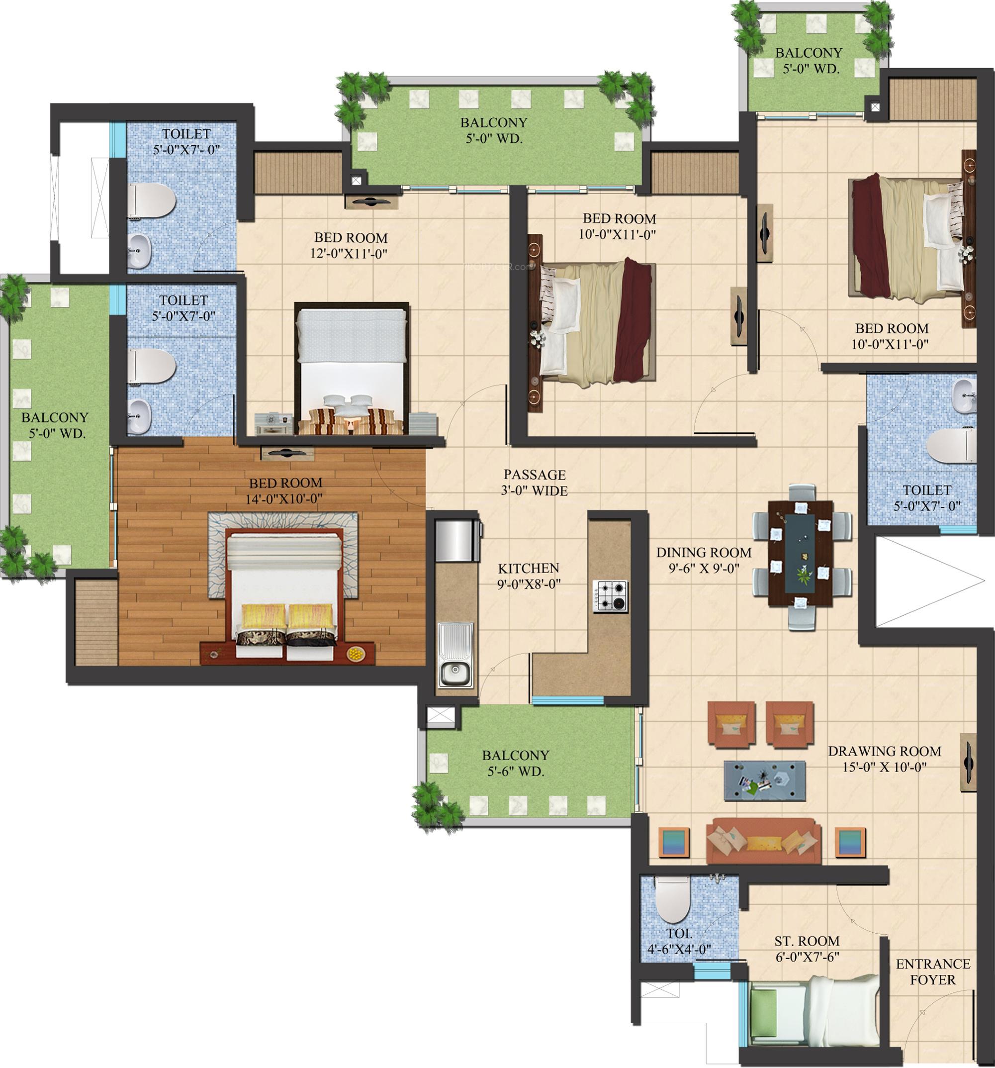 Ajnara Legarden In Sector 16 Noida Extension Greater Price Wiring Diagram Le Grand Hotel Room More Photos
