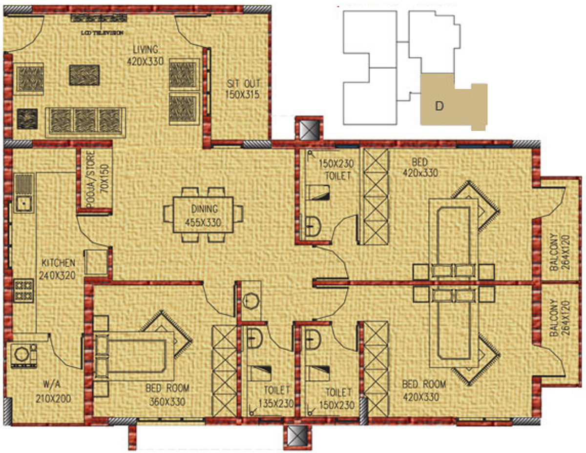 Royal Projects Dream in Thripunithura, Kochi - Price