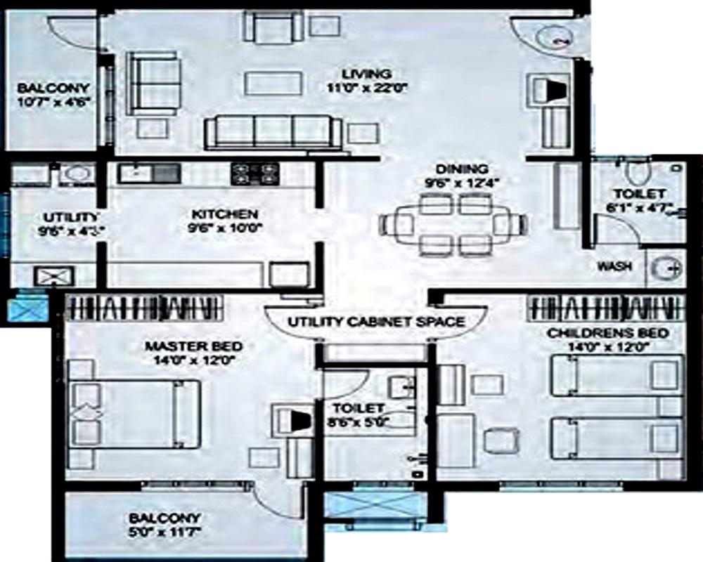Nirmaan bhargavi gloria residency by nirmaan homes in for X2 residency floor plan