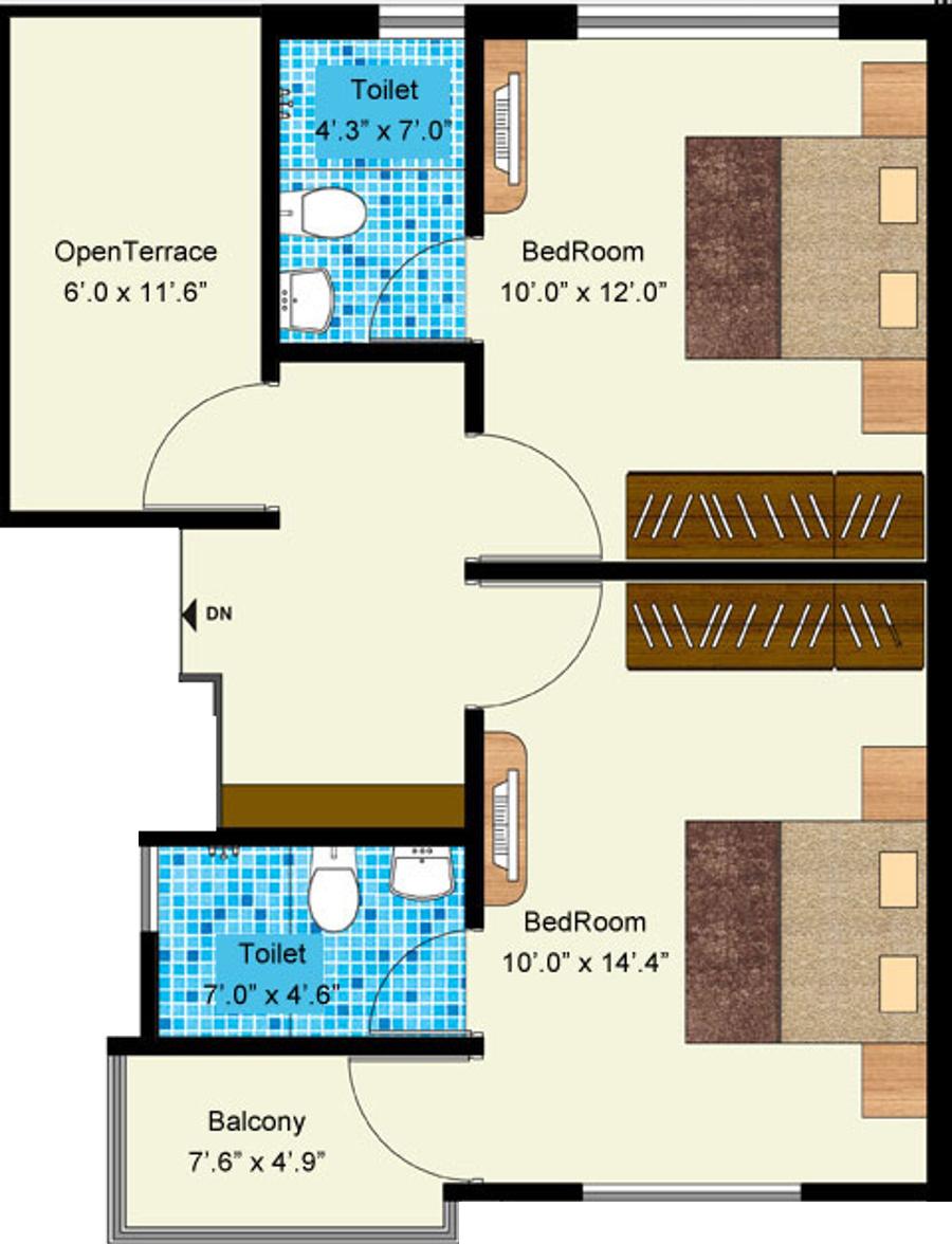 Aakruti Duplex In Makarpura Vadodara Price Location