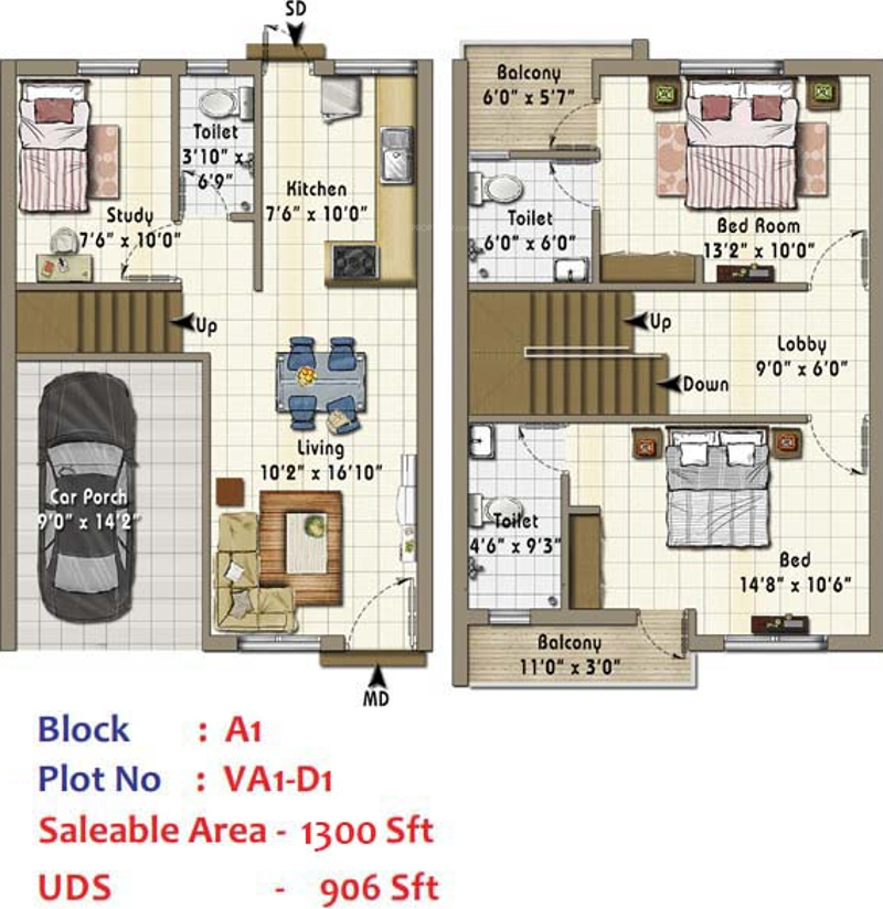 Annai ahalyaa in medavakkam chennai price location map for Real estate floor plan pricing