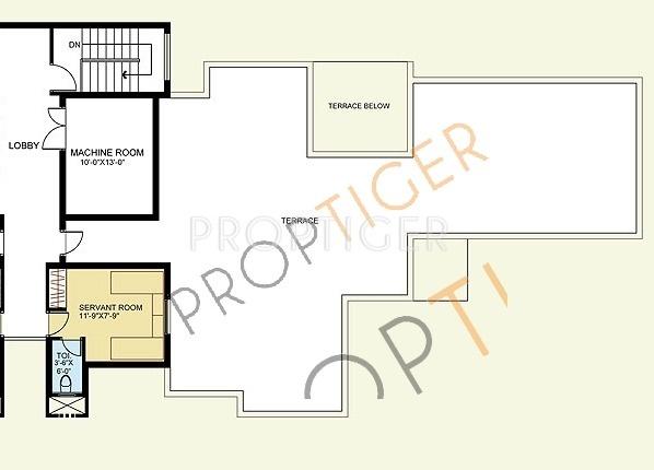 Satya The Legend (4BHK+5T (4,810 sq ft)   Servant Room 4810 sq ft)