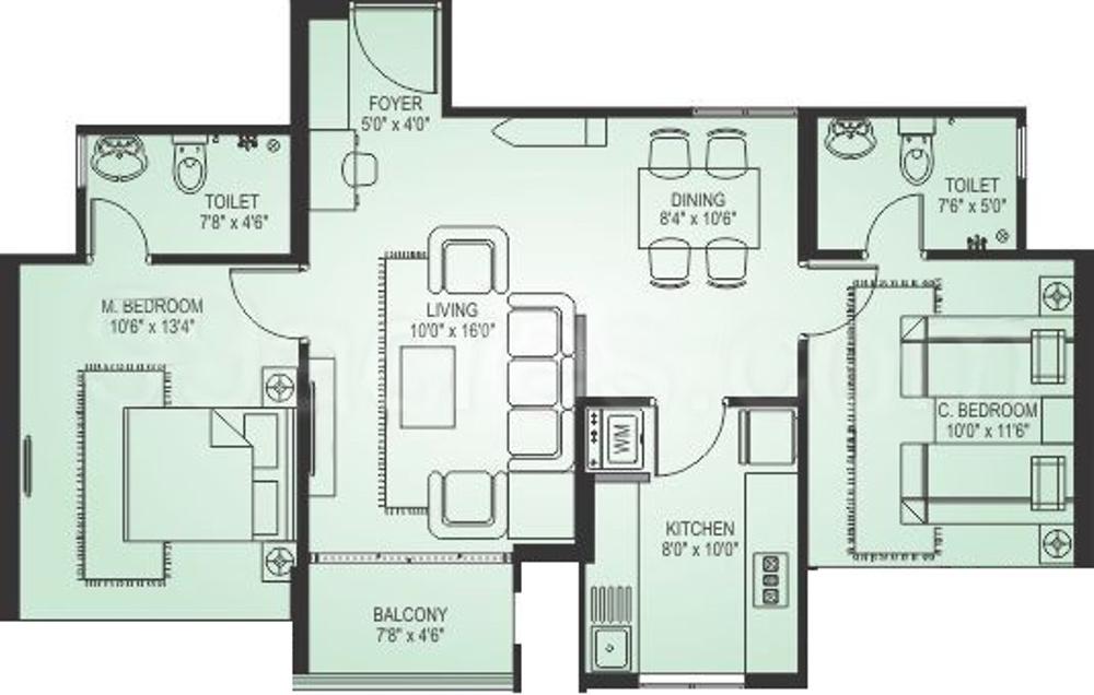 Mohtisham crescent in derebail mangalore price for 1077 marinaside crescent floor plan