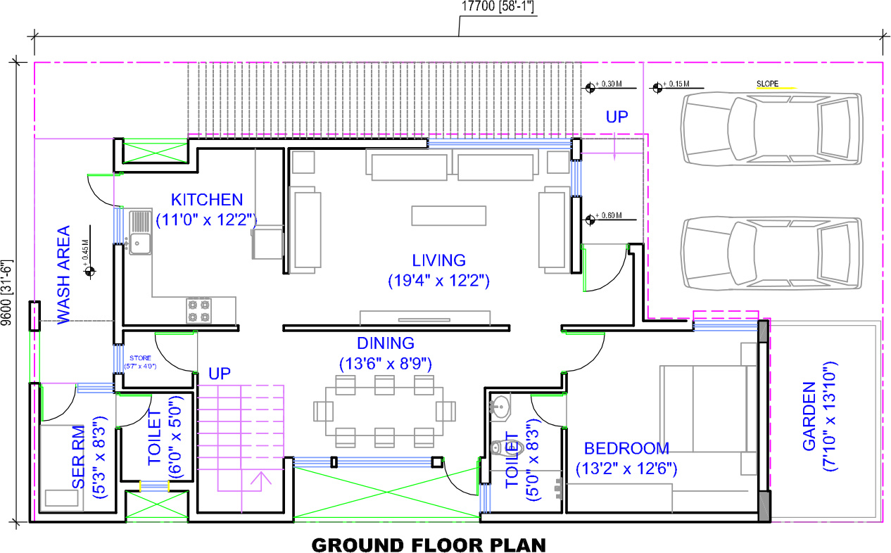 Traditional Chettinad House Plans - Liveideas.co