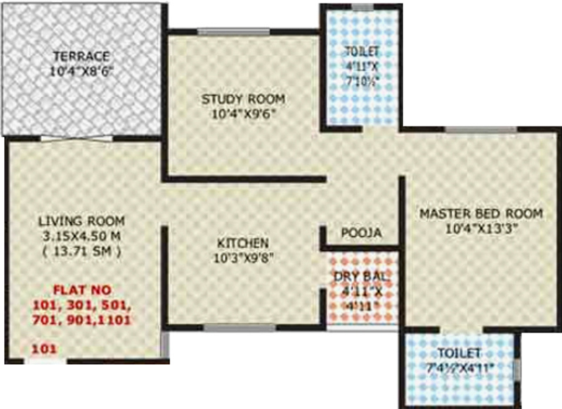 925 Sq Ft 2 Bhk 2t Apartment For Sale In Sneh Properties
