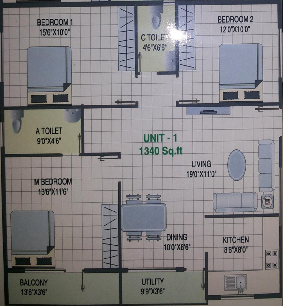 Laavanya sri shankari residency in subramanyapura for X2 residency floor plan