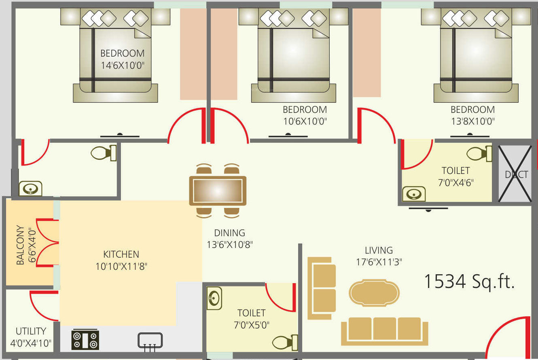 Sriven Rag Serenity In Talaghattapura Bangalore Price Location Dact Wiring Diagram 6
