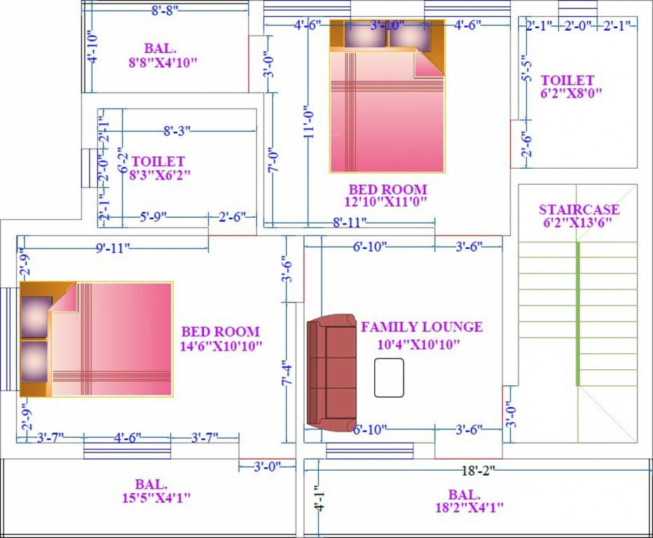 1200 sq ft 3 bhk 3t villa for sale in appolo presidency for 1200 sq ft modular home price