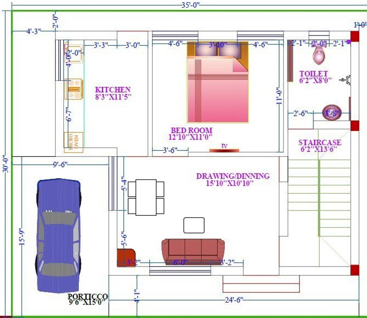 Appolo presidency simplex and duplex in sundarpada for Duplex designs prices