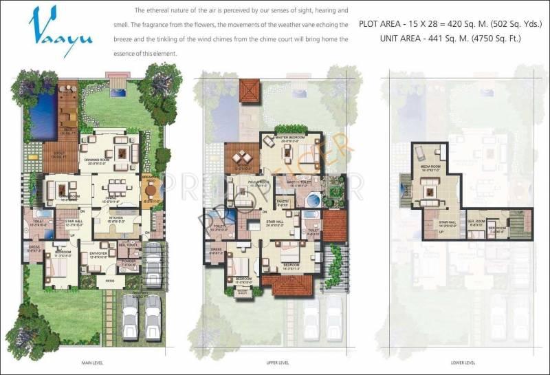 Vipul Tatvam Villas (4BHK+5T (4,750 sq ft)   Servant Room 4750 sq ft)