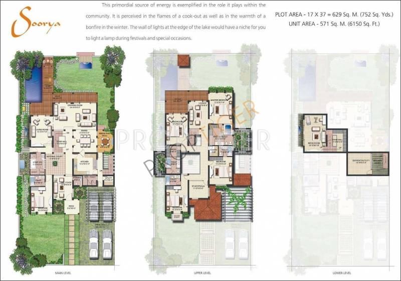 Vipul Tatvam Villas (5BHK+6T (6,150 sq ft)   Study Room 6150 sq ft)