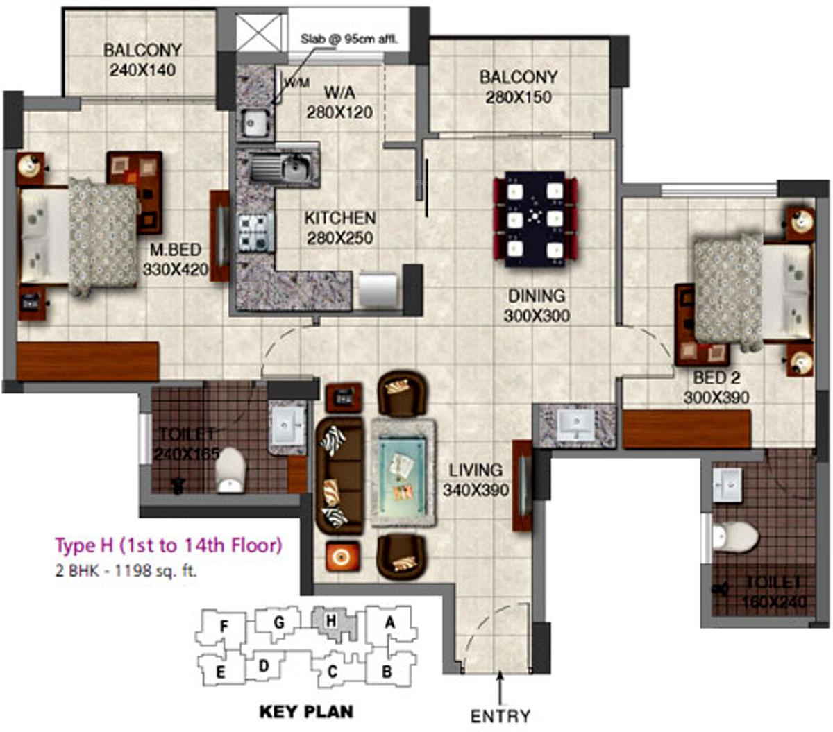 SFS Avenue in Peroorkada, Trivandrum - Price, Location Map, Floor Plan & Reviews :PropTiger.com