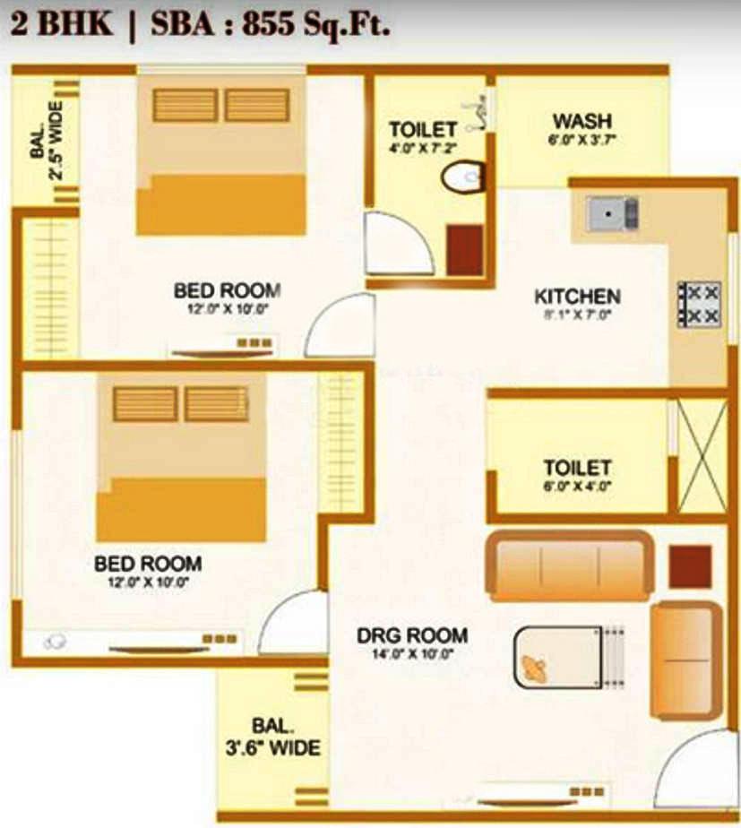 Shree dhyan infracon pvt ltd residency in sama vadodara for X2 residency floor plan