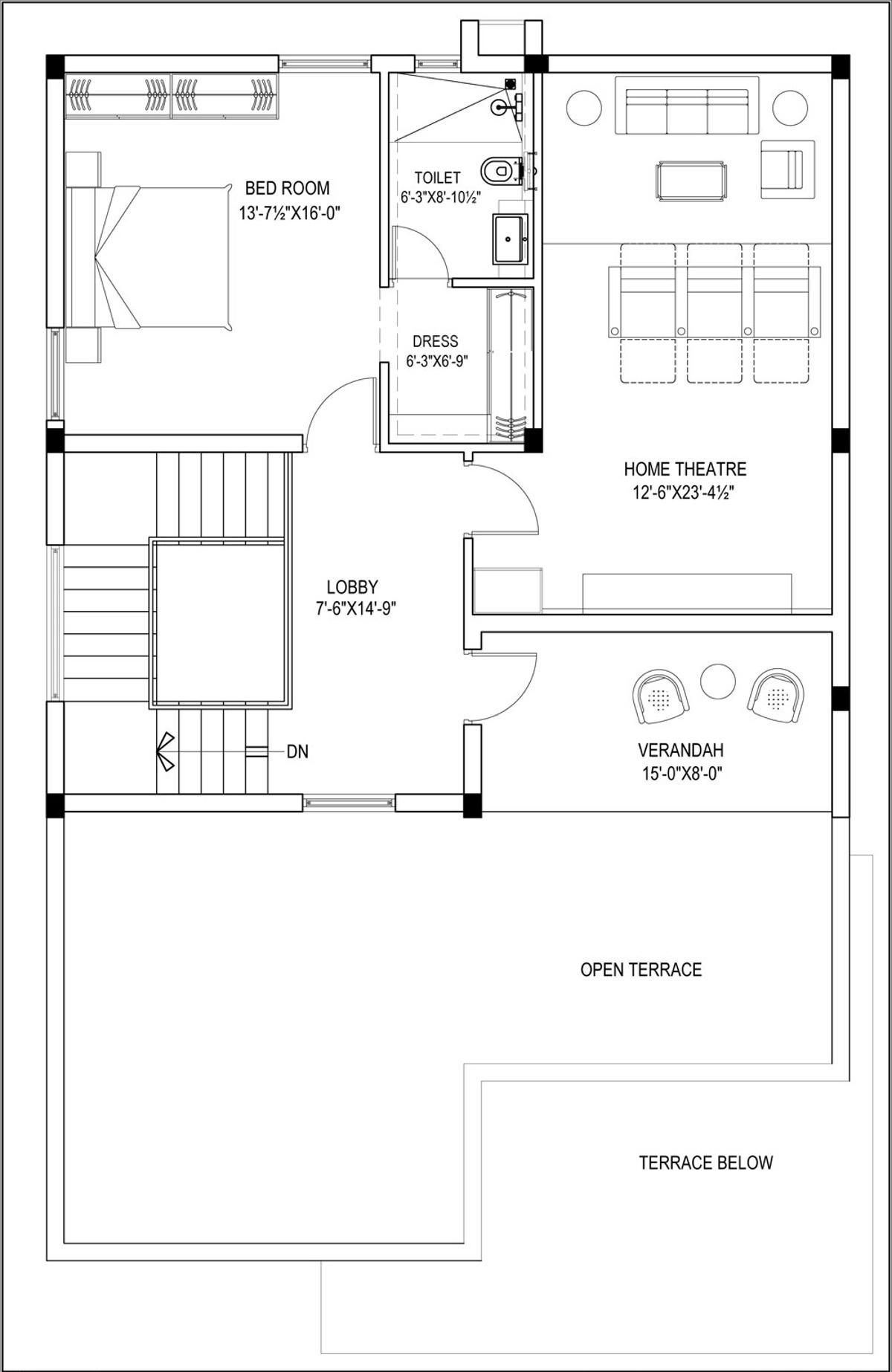 Gvn lake view villas in manikonda hyderabad price for Lake view floor plans