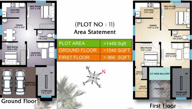 Shree Vinayak Homes (4BHK+4T (2,006 sq ft) 2006 sq ft)