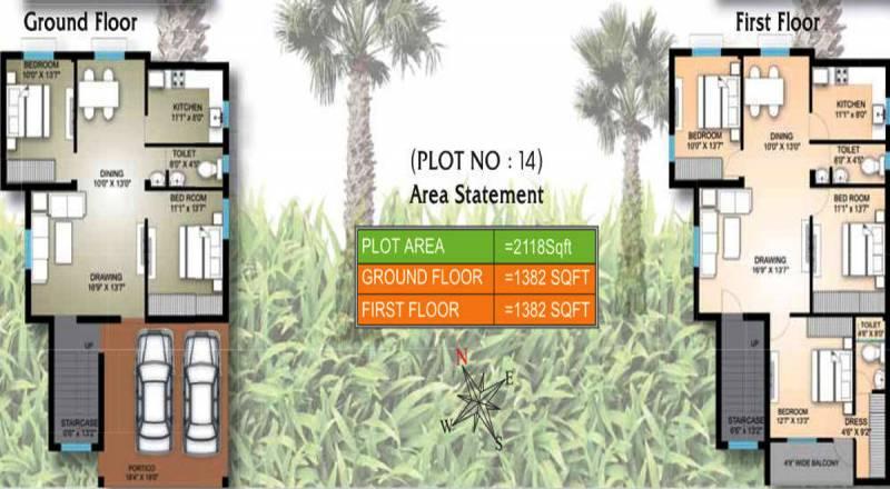 Shree Vinayak Homes (5BHK+3T (2,764 sq ft) 2764 sq ft)