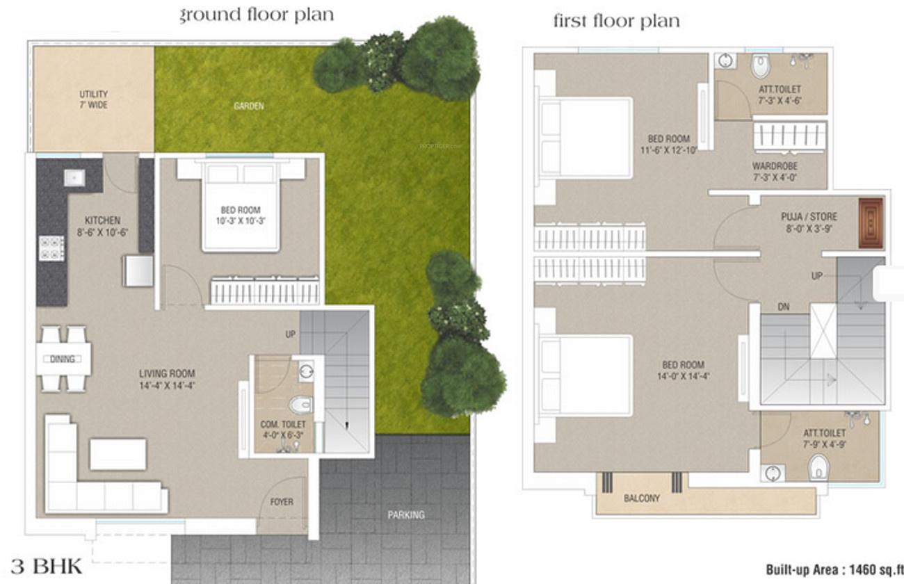 Rathin sahjanand duplex in atladara vadodara price for Duplex plans and prices
