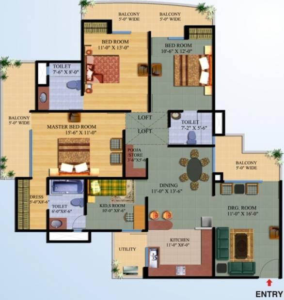Gen X Floor Plans