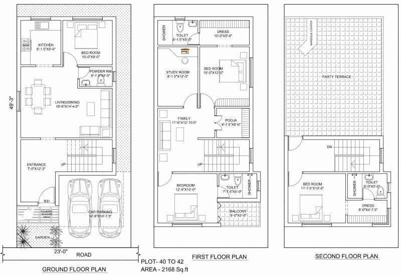 Poomalai The Wind (4BHK+4T (2,168 sq ft)   Study Room 2168 sq ft)
