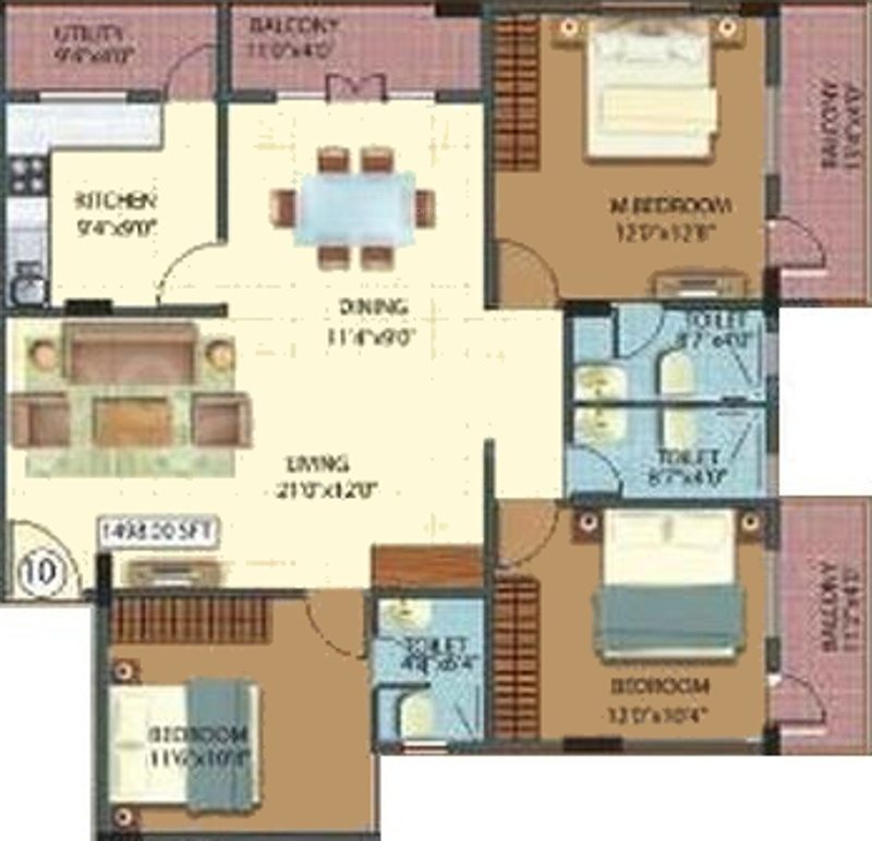 Js sunflower in yelahanka bangalore price location map for Javascript floor