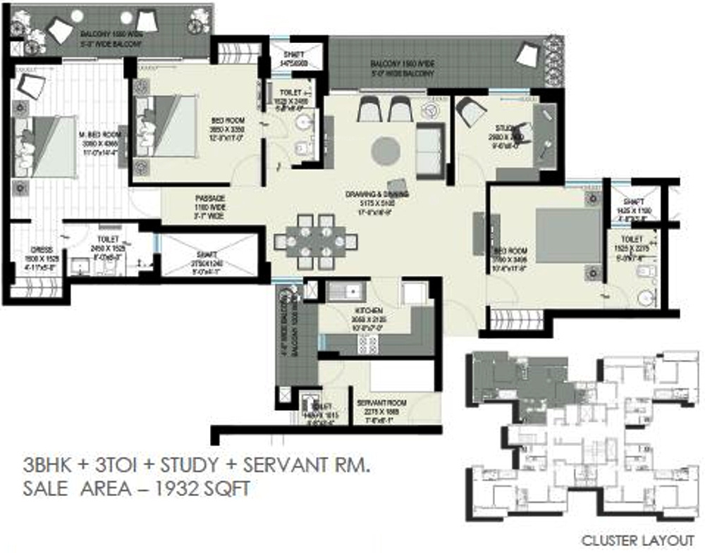 Home and soul sterling in sector 150 noida price for Sterling plan