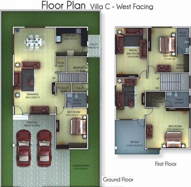 Golden Golden Homes III (3BHK+5T (2,978 sq ft) + Servant Room 2978 sq ft)