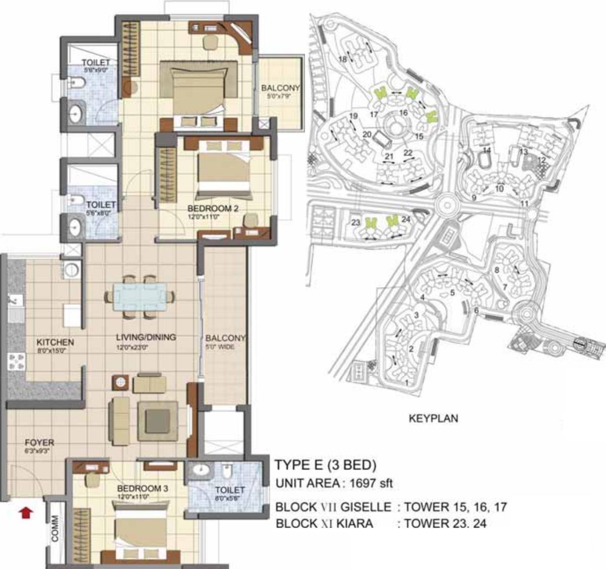 Prestige lakeside habitat apartments in varthur bangalore for 12th floor apartments odessa