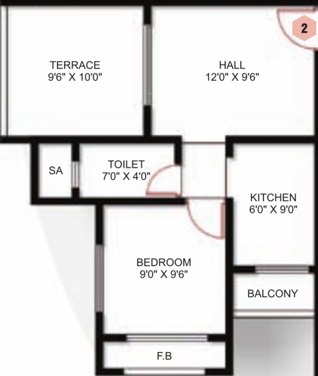 floor plan 1bhk 1t 450 sq ft free home design ideas images site plan office floor plan 450 sq ft office floor plan