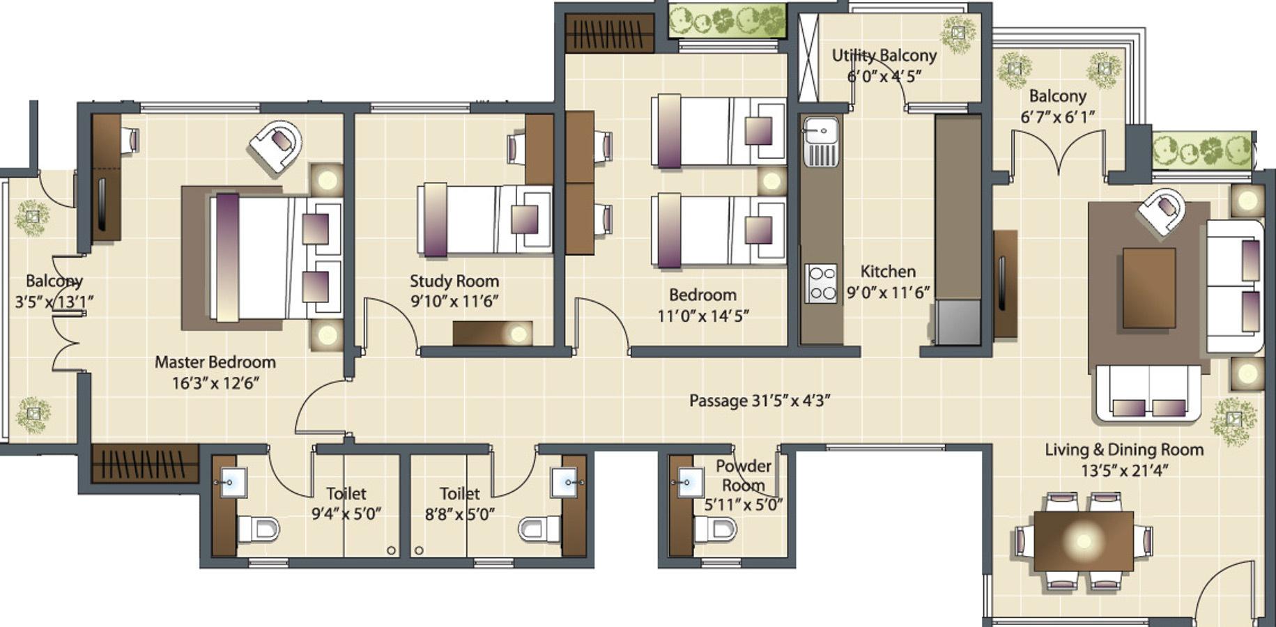 Luxora horizon apartments in manewada nagpur price for 12th floor apartments odessa