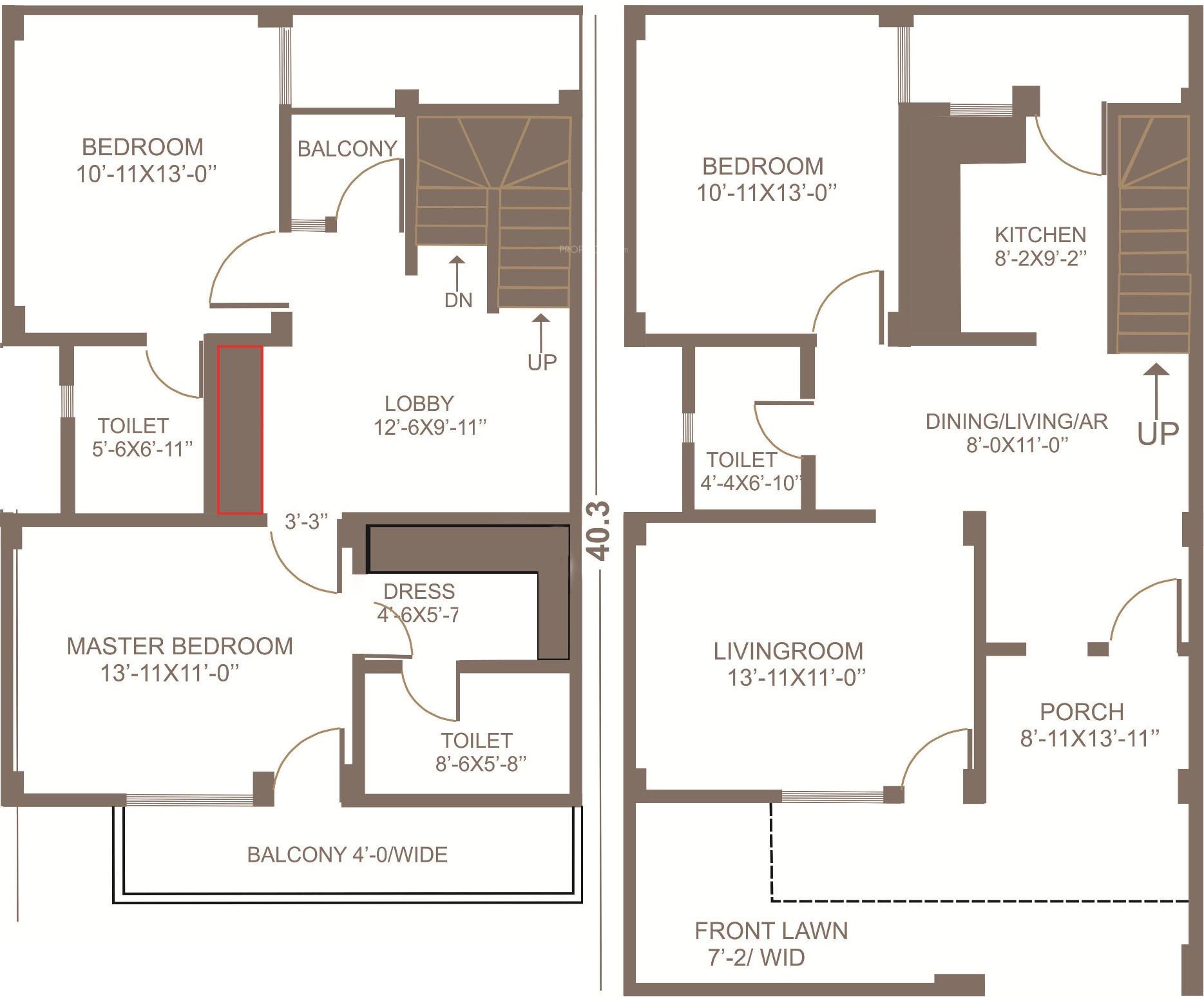 1400 sq ft 3 bhk 3t villa for sale in aftek group homes tindola