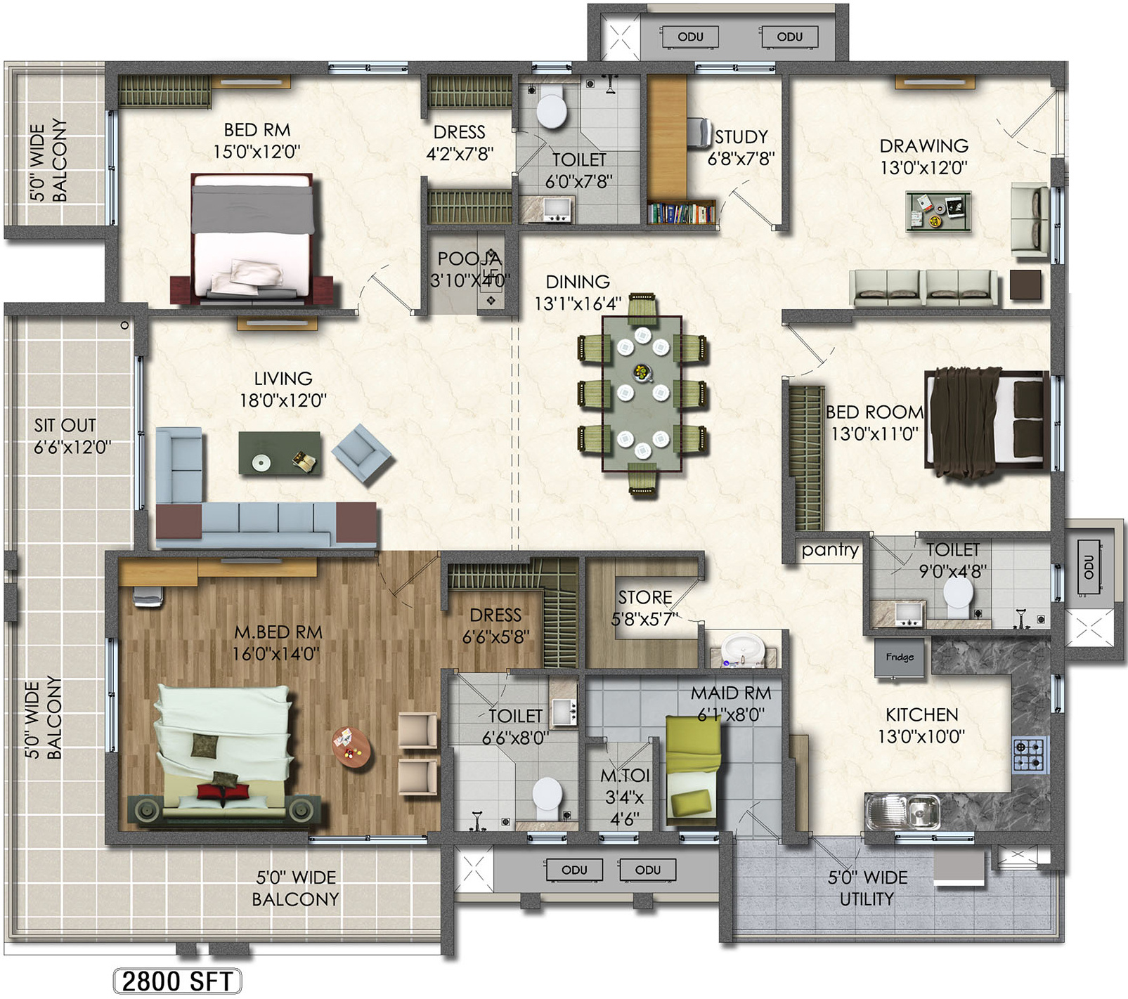 Apartment Floor Plans In Hyderabad aparna westside in manikonda, hyderabad - price, location map