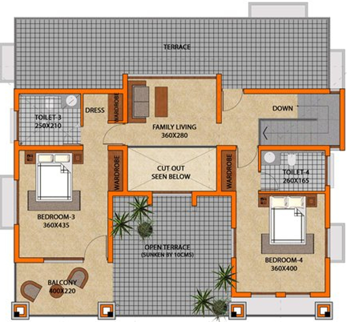 2676 sq ft 4 bhk 4t villa for sale in classic homes tropicana