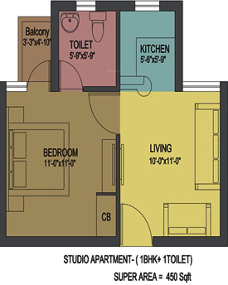 floor plan 1bhk 1t 450 sq ft free home design ideas images floor plan 1bhk 1t 450 sq ft free home design ideas images