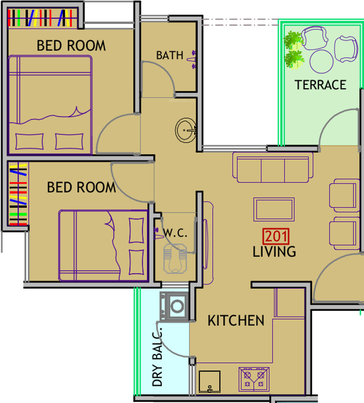 Mantra residency in chakan pune price location map for X2 residency floor plan