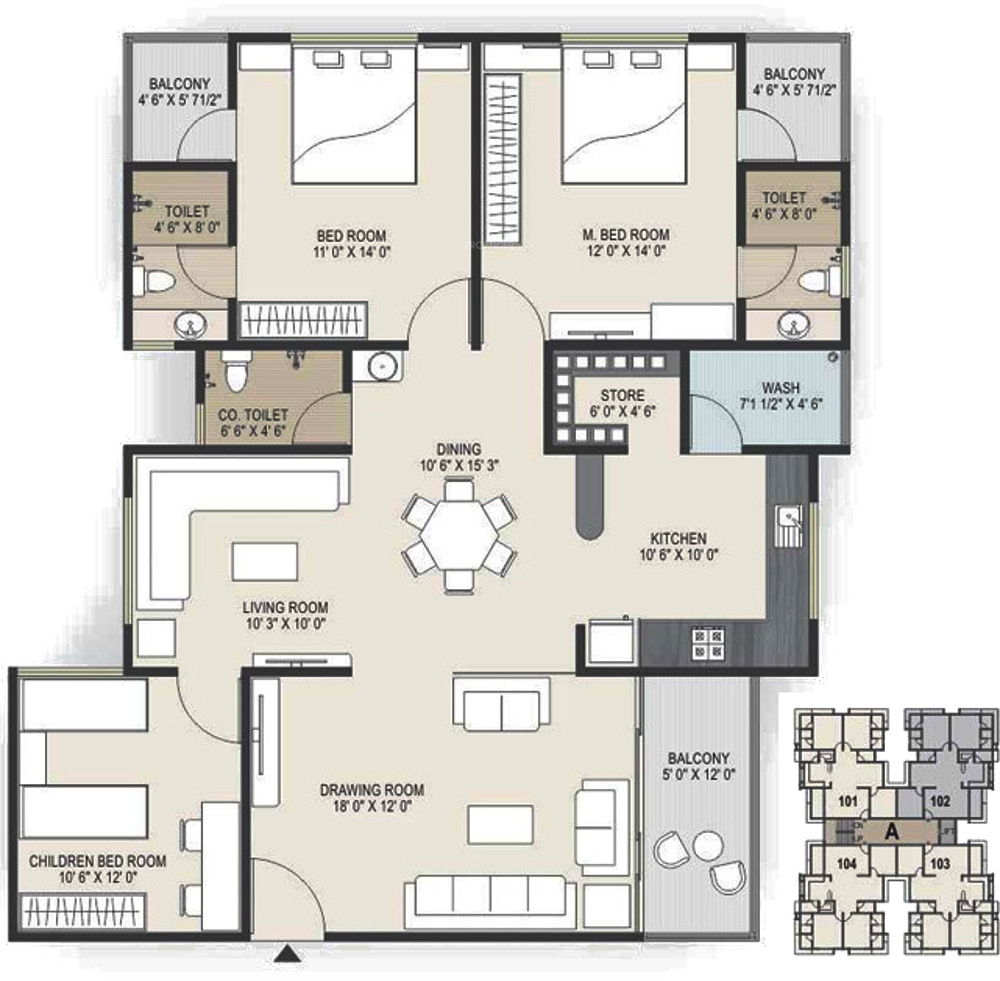 Arise western in ognaj ahmedabad price location map for Western floor plans