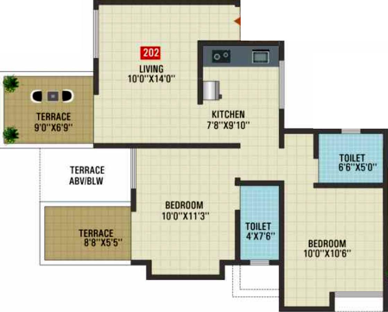 Vastu raj residency by vastu developers pune in talegaon for X2 residency floor plan