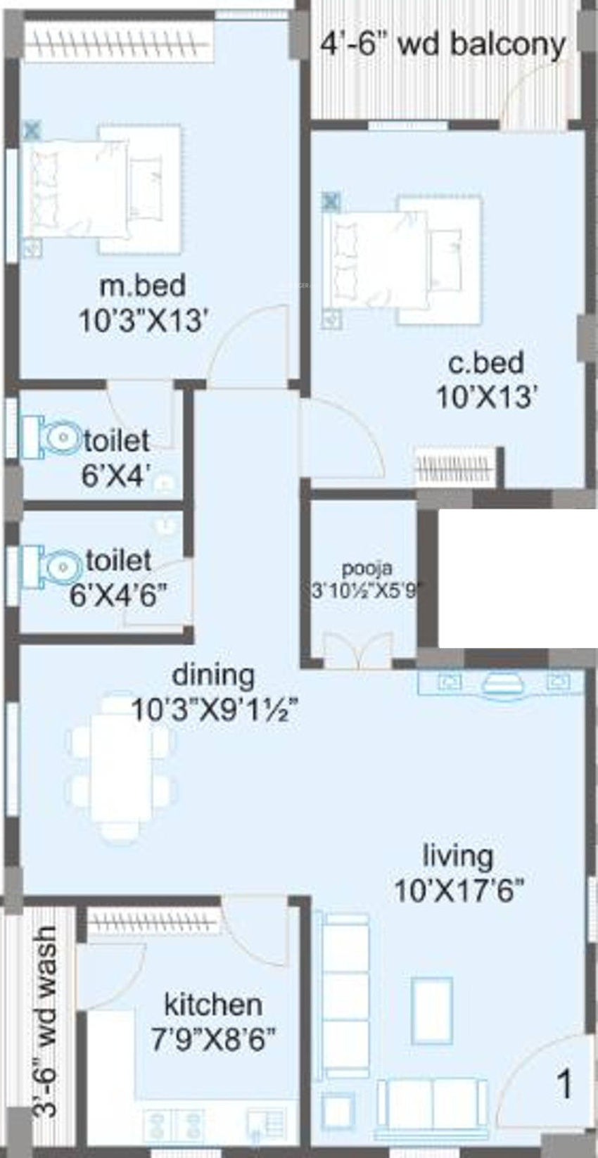 Hanuma sridhara and srinadha residency in manikonda for X2 residency floor plan