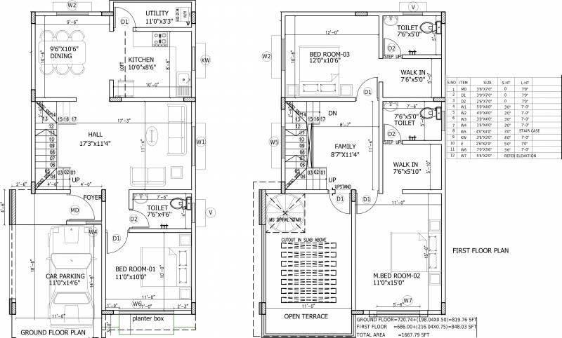 1667 Sq Ft 3 Bhk Floor Plan Image Peninsula Infra Solitaire Schematic Diagram X2 02 Of
