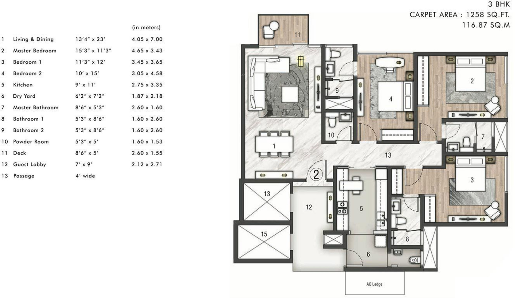 Rustomjee Paramount Floor Plan Rustomjee Paramount In Santacruz West