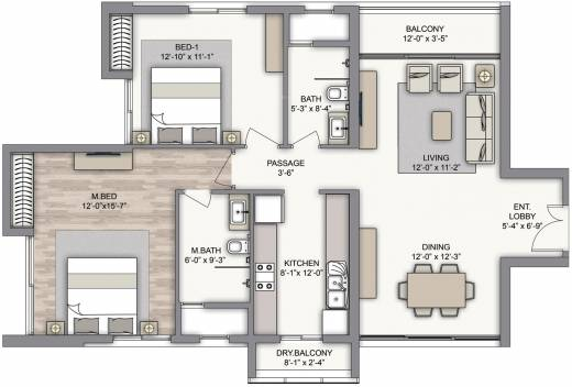 Kitchen Floor Plans 12 By 11 Shining Home Design
