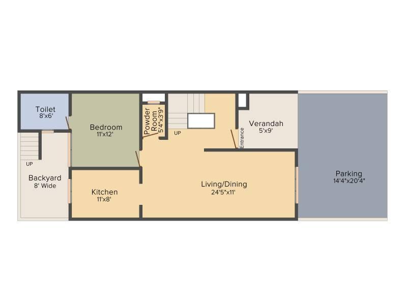 Aarcity Star Villas (4BHK+4T (2,260 sq ft)   Servant Room 2260 sq ft)