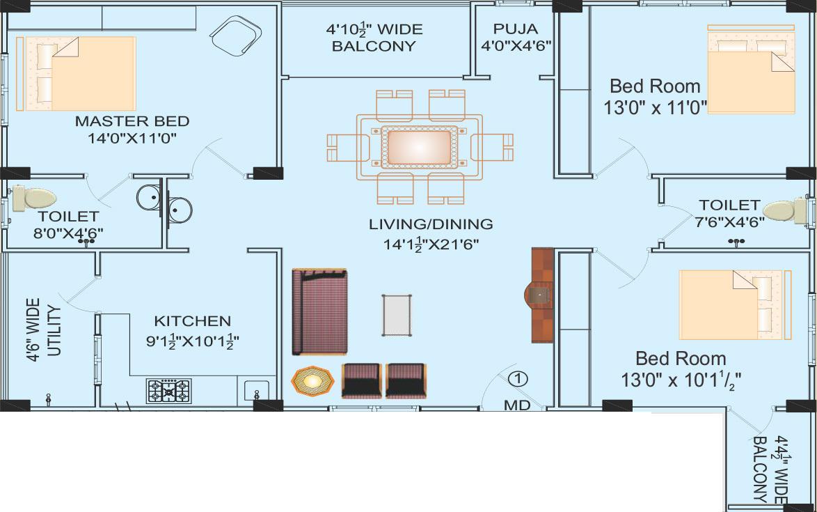 Lakshmi crescent in serilingampally hyderabad price for 1077 marinaside crescent floor plan