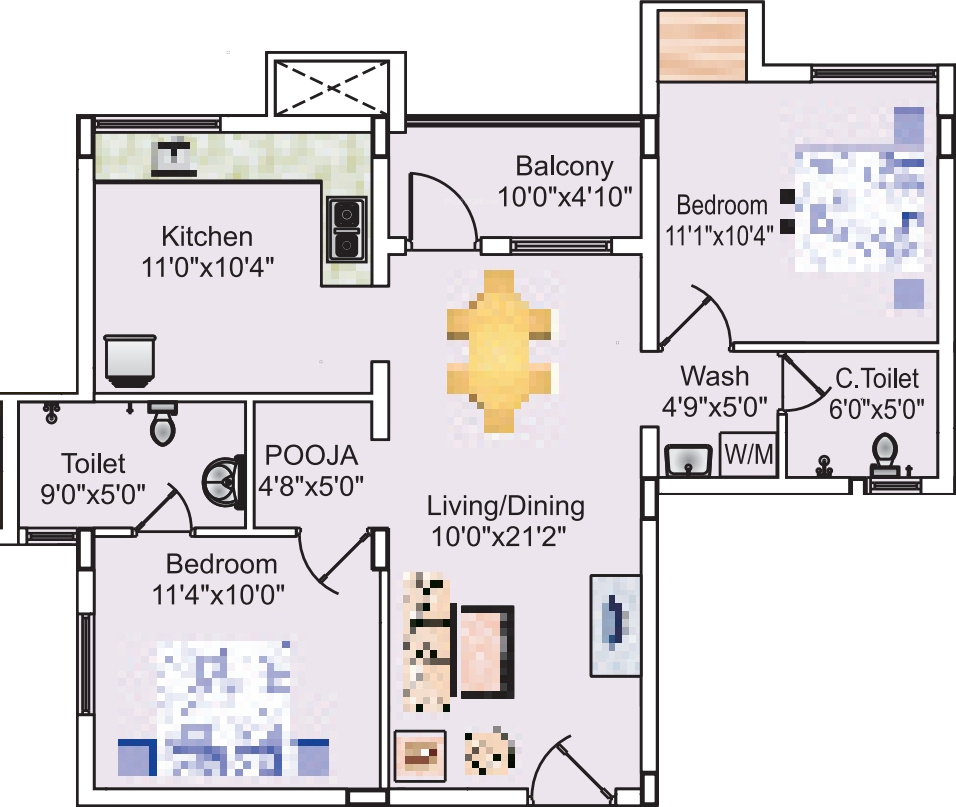 Sreevatsa sankara apartments 2 in kalapatti coimbatore for 12th floor apartments odessa