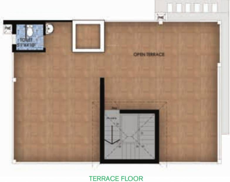 TVS Emerald GreenAcres Villas (3BHK+4T (2,507 sq ft) + Pooja Room 2507 sq ft)