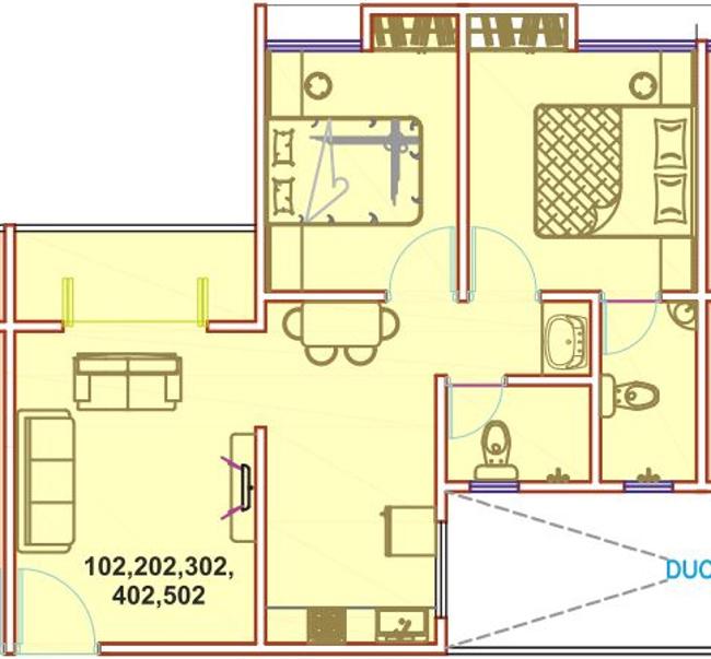 Maple aapla ghar shikrapur in shikrapur pune price for Ghar plans design