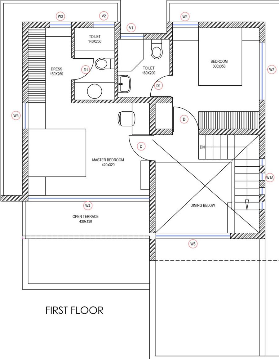 Anzera retreat villas in thrikkakara north kochi price for The retreat floor plans
