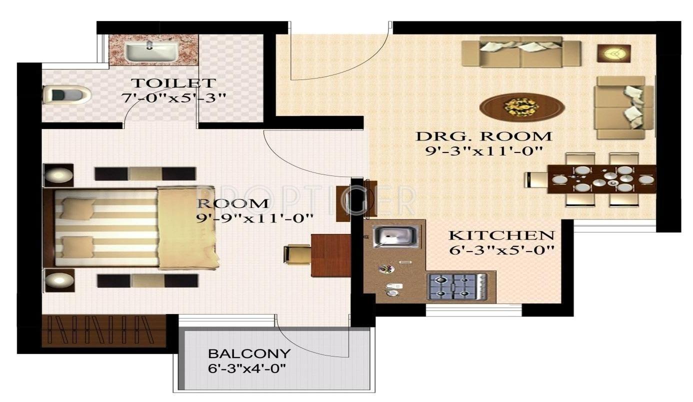 100 500 Sq Ft Studio Best 25 1 Bedroom House Plans
