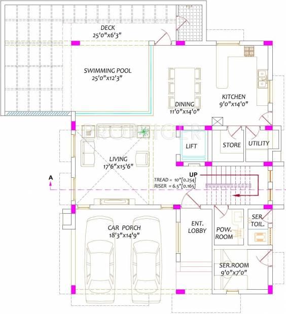 Radiance Green Springs (4BHK+5T (5,500 sq ft)   Servant Room 5500 sq ft)