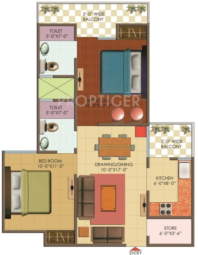 925 Sq Ft 2 Bhk 2t Apartment For Sale In Galaxy Dream Home
