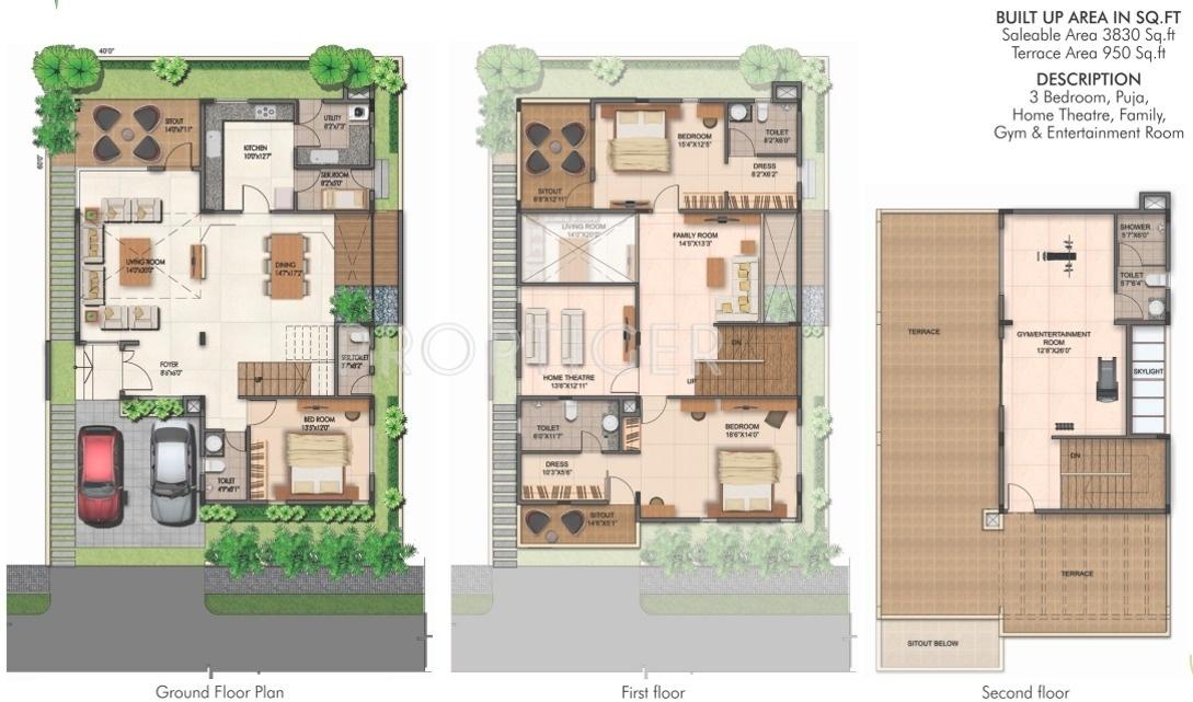 Fortune Kosmos Villas In Narayanaghatta Bangalore Price